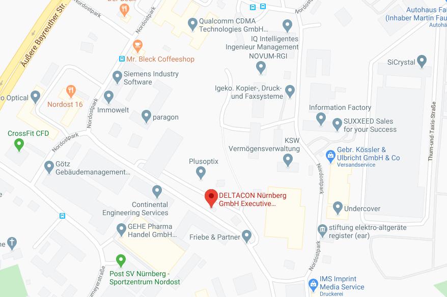 Deltacon Nürnberg Standort
